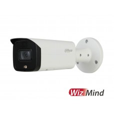 Dahua 2MP Pro AI WizMind Bullet Active Detterent Network Camera with 2.8mm Fixed Lens IPC-HFW5241TP-AS-PV
