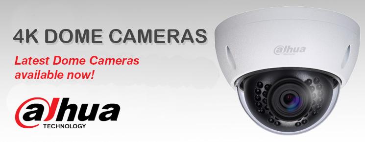 4K Dome Cameras